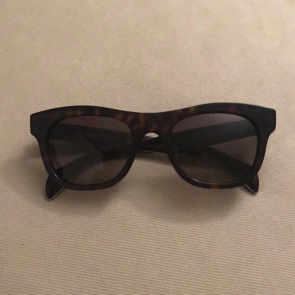 6bd1c30d2a66 Prada Tortoise Sunglasses with Case. M_5b860802d365be055177e4da